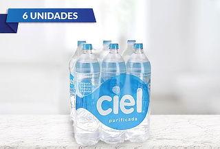 Pack de 6 Botellas de Agua Ciel de 1.5 Litros