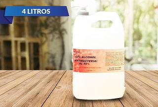 Gel Alcohol Antibacterial 4 Lts al 50%