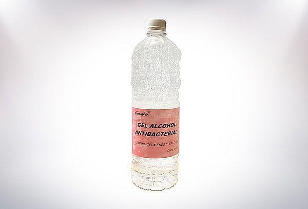 Gel Antibacterial de 1 Litro ¡Sanitizante y desinfectante!