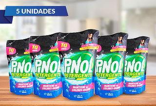 Pack de 5 Detergentes Liquido Ropa Oscura Pinol