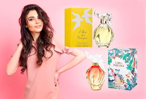 Perfume Nina Ricci ¡Escoge tu favorito!