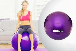 Pelota Wilson para yoga o pilates 55 cm morada