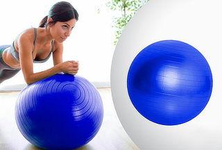 Pelota Duxx para yoga o pilates 65 cm azul