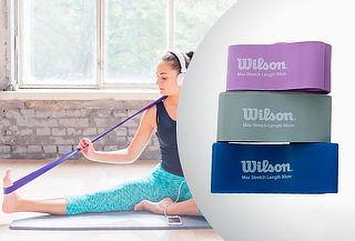 Pack 3 Resistencias Wilson para entrenamiento en 3 niveles