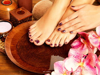 Manicure + Pedicure + Gelish Tonos INCREIBLES