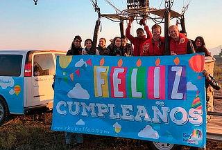 Cumpleaños Pendiente: Vuelo en Globo para 2