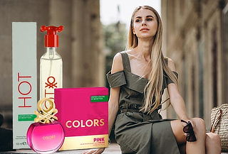 Perfume Benetton para Dama en Modelo HOT 100 ml