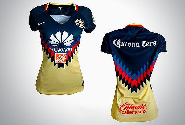 Jersey América original Nike Local 2017-2018 para Dama