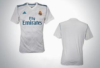 Jersey Real Madrid original Adidas 2017-2018 para hombre