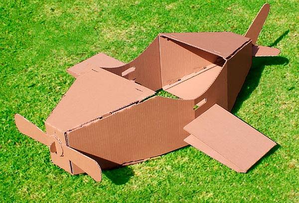Casitas y Montables de cartón 3D para niños¡Arma y Decora!