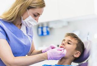 Para niños: Check Up Dental +  Limpieza y Flúor