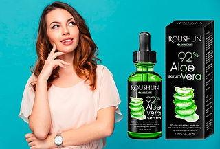 Suero de Aloe Vera para el cuidado de la piel
