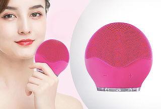Limpiador Facial de Silicona Ultrasónico Eléctrico