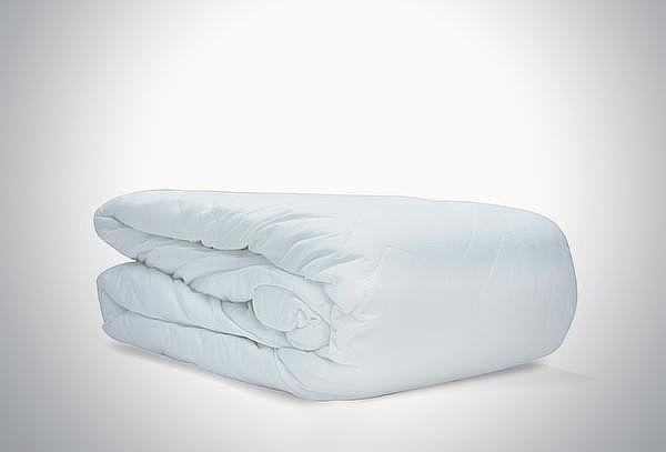 Protector de Colchón Acolchonado Blanco
