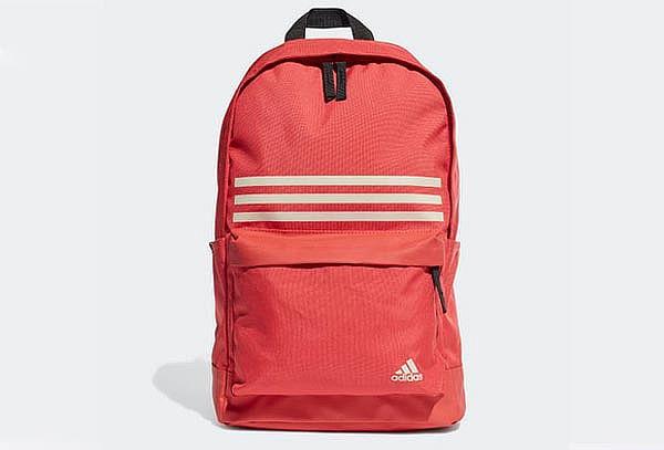 Mochila Adidas Classic 3S Pocket color rojo