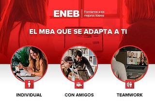 Estudia Solo o con amigos: MBA con triple titulación en ENEB