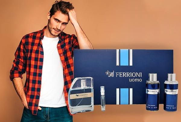 Set Ferrioni Uomo For Men ¡Incluye 4 piezas!