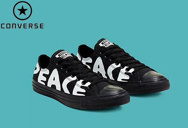Tenis Converse Chuck Taylor Peace Hi ¡Talla a elegir!