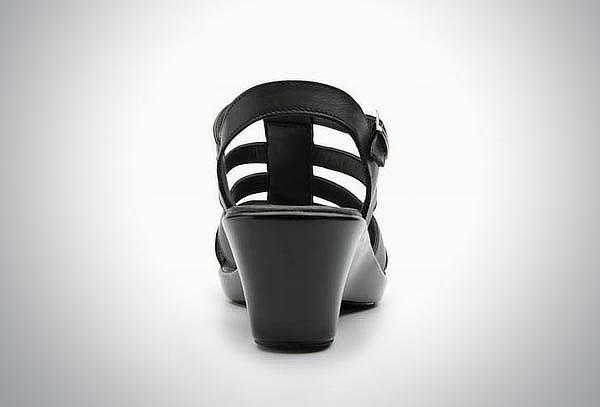 Sandalia Flexi color negro #24