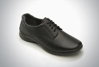 Zapato choclo Flexi para dama negro #24
