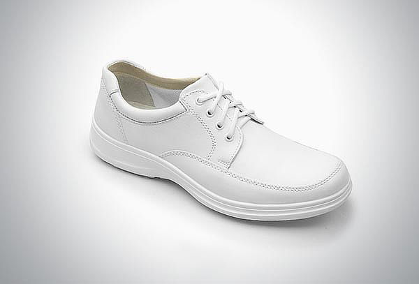 Zapato Casual Blanco con agujetas #28