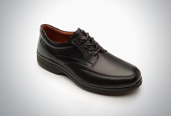 Zapato Flexi Negro con agujetas #29