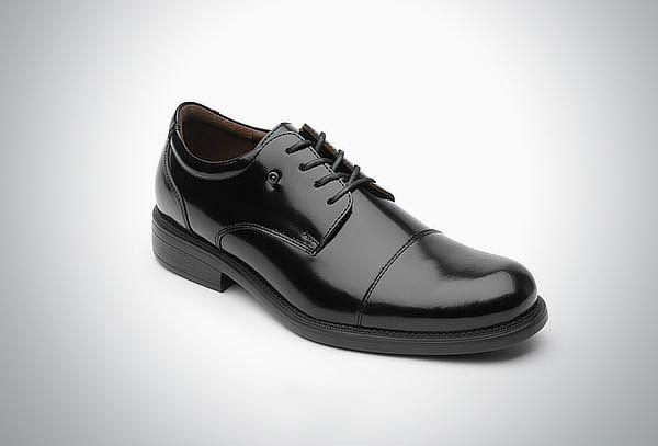 Zapato Derby Liso Clásico Quirelli Negro #27