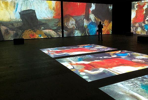 Acceso para 5 personas Monet Experience y Los Impresionistas
