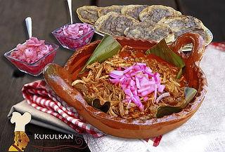 HOY: Deliciosa Cochinita para 2 Personas en Kukulkan