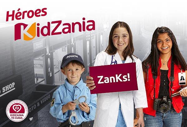 Reapertura KidZania Paquete 2 Adultos + 3 Niños