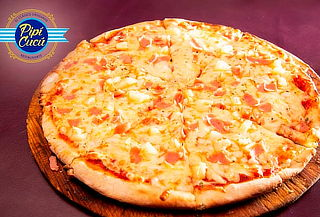 Pizza grande + Jarra de Clericot para 2