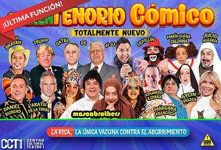 ÚLTIMA FUNCIÓN: El cuarentenorio cómico en CCTI¡Renovado!