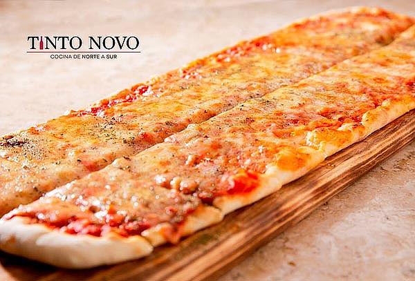 Pizza Uruguaya + Empanadas + Jarra de Clericot para 2