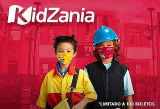 Entrada KidZania Niño o Adulto-Cuicuilco ¡Todos Juegan!