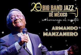 The Big Band Jazz: Homenaje a Armando Manzanero ABR24