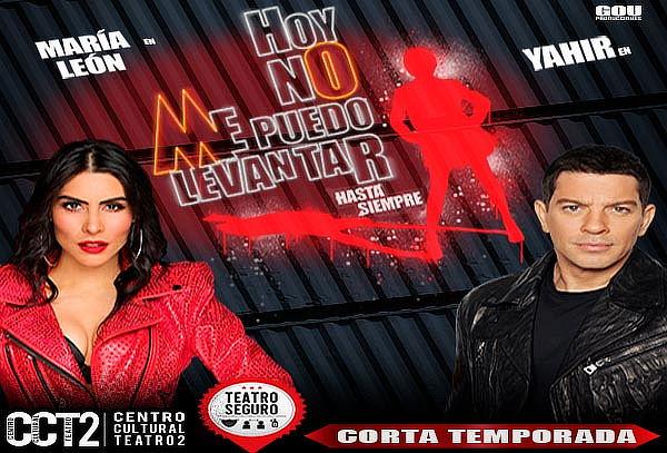 ESTRENO: ¡Hoy no me puedo levantar! María León y Yahir