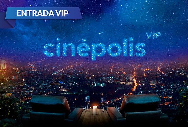 Cinépolis: Entrada Sala VIP de Lunes a Domingo