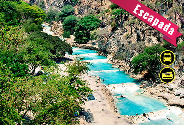 Grutas de TOLANTONGO, Aguas Termales en Hidalgo: Julio 10