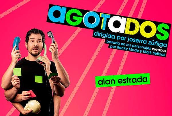 Agotados con Alan Estrada en Teatro Aldama