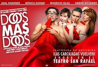Dos MÁS Dos con Adal Ramones la comedia del año