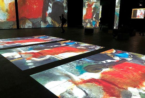 Experiencia Inmersiva Monet Experience y Los Impresionistas