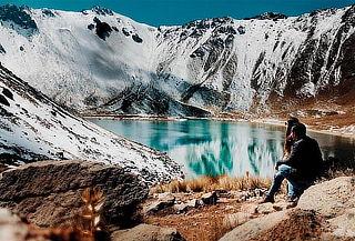 Nevado de Toluca y COSMOVITRAL 1D, en Octubre