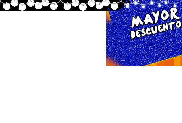 Navidad Mancha Azul Mayor descuento