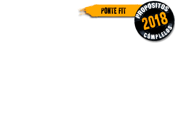 propósitos Ponte Fit 2018