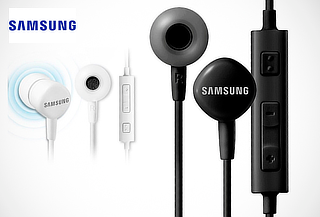 Audífono Samsung Original con Micrófono y Control de Volumen