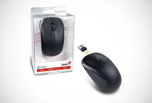 ¡Control sin Cables! Mouse Wireless Genius NX-7000