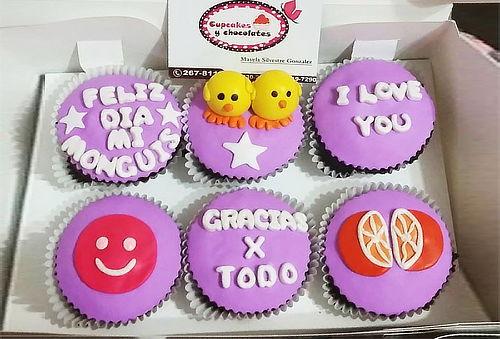 ¡Riquísimos! 12 Cupcakes 3D + 24 Cakepops + Delivery
