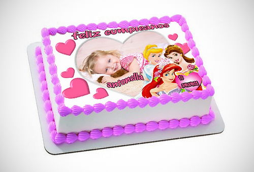 ¡Exquisita! Foto-Torta Personalizada para Regalar