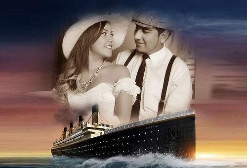 ¡Sesión Fotográfica para Enamorados Estilo Titanic o Cowboy!
