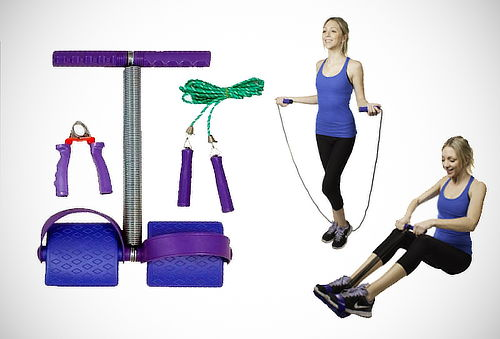 ¡Cuerpo Fitness! Set de Entrenamiento 3 Way Training